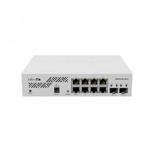 Коммутатор MikroTik Cloud Smart Switch 610-8G-2S+IN (CSS610-8G-2S+IN)