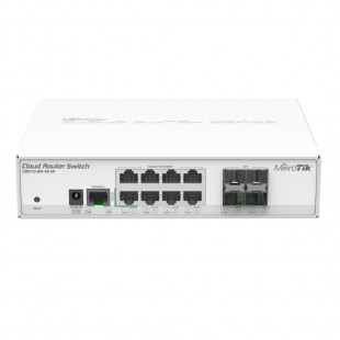 Комутатор MikroTik Cloud Router Switch 112-8G-4S-IN (CRS112-8G-4S-IN)