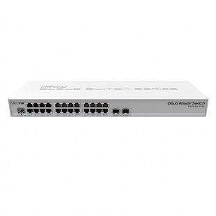 Комутатор MikroTik Cloud Router Switch 326-24G-2S+RM (CRS326-24G-2S+RM)