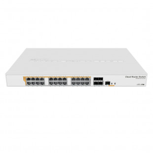 Комутатор MikroTik Cloud Router Switch 328-24P-4S+RM (CRS328-24P-4S+RM)