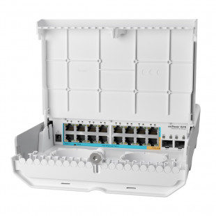 Комутатор MikroTik netPower 15FR (CRS318-1Fi-15Fr-2S-OUT)