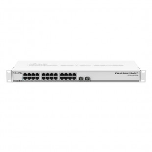 Комутатор MikroTik Cloud Smart Switch 326-24G-2S+RM (CSS326-24G-2S+RM)